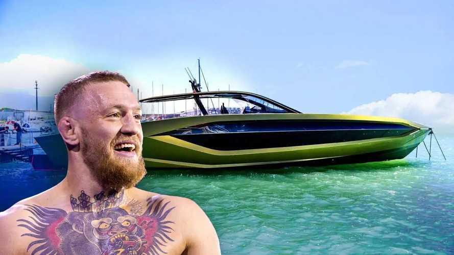 Conor McGregor vuole correre con Lamborghini, anche in mare