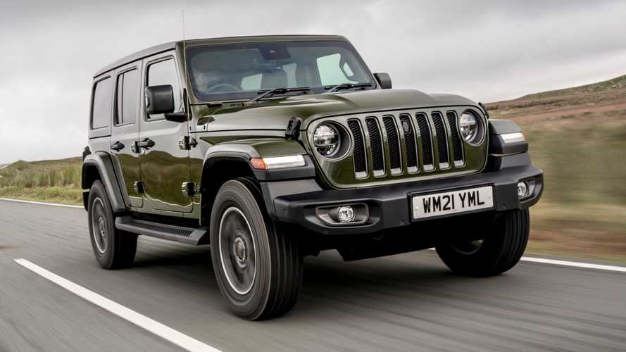 UK: Revamped Jeep Wrangler gets new anniversary edition