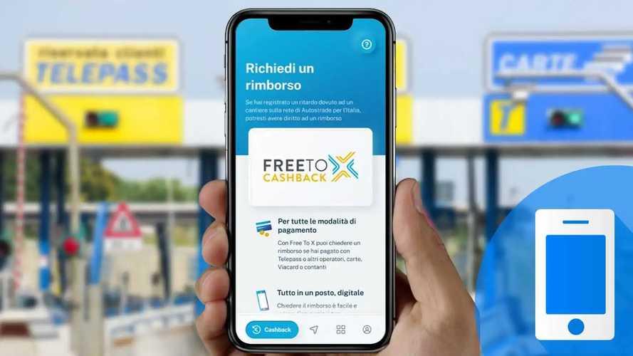 Cashback autostrade, come si ottiene con l'app Free to X
