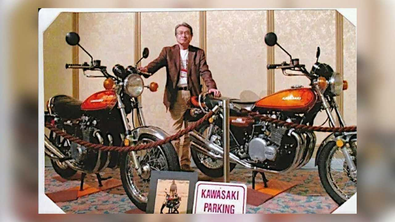 Norimasa Tada, Kawasaki Z1 designer