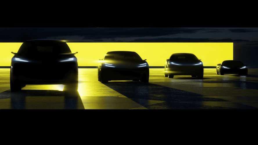 Lotus anuncia 4 novos veículos elétricos que chegam até 2026