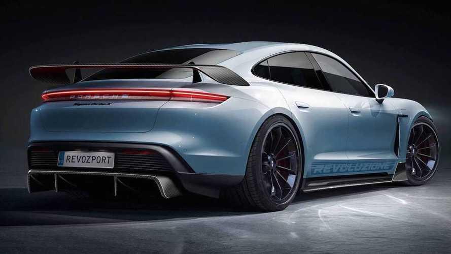 Porsche Taycan Aerokit By RevoZport