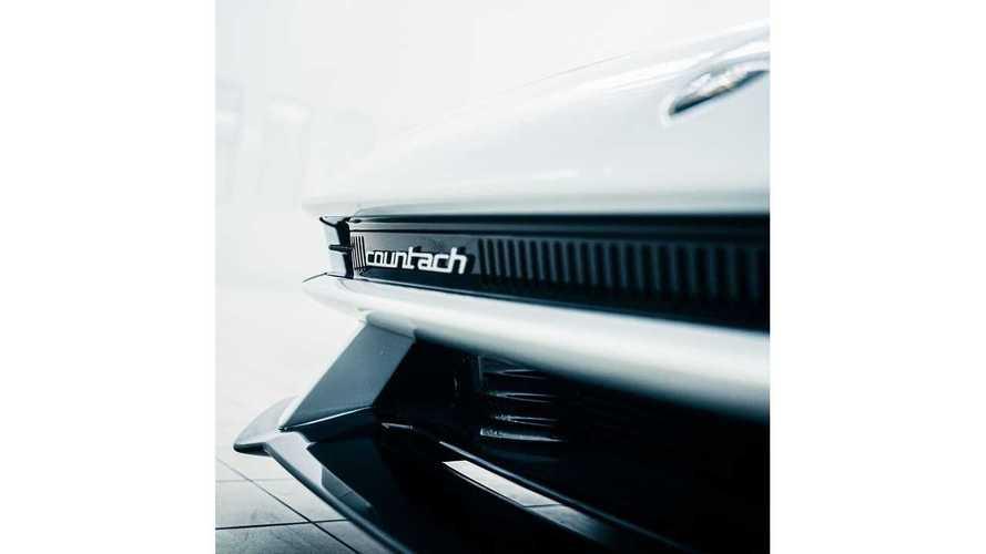 Lamborghini Countach Instagram Teasers