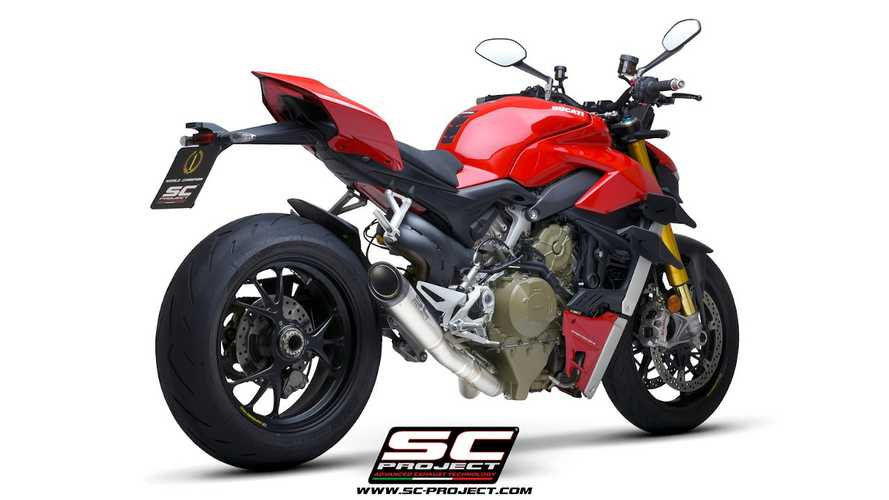 SC Project Releases S1 Exhuast For Ducati Streetfighter V4