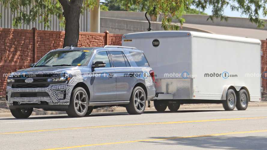 New Ford Expedition ST Spy Shots