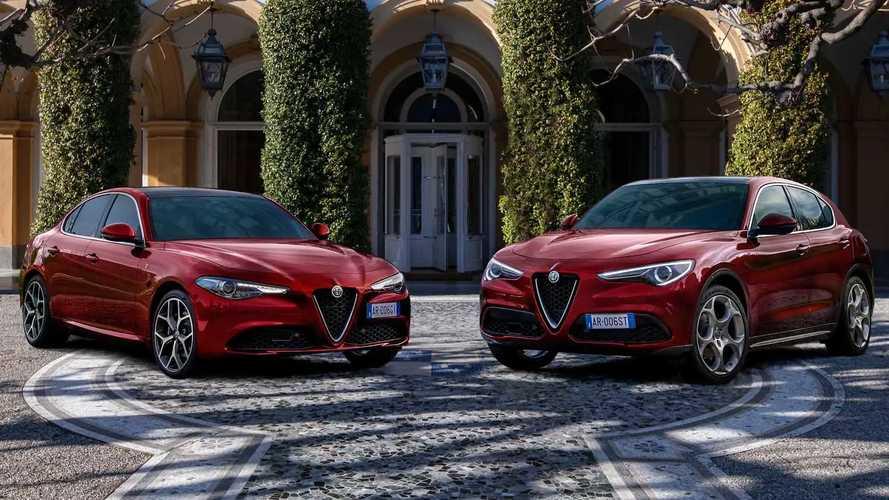 Alfa Romeo Stelvio And Giulia 6C Villa d'Este Edition