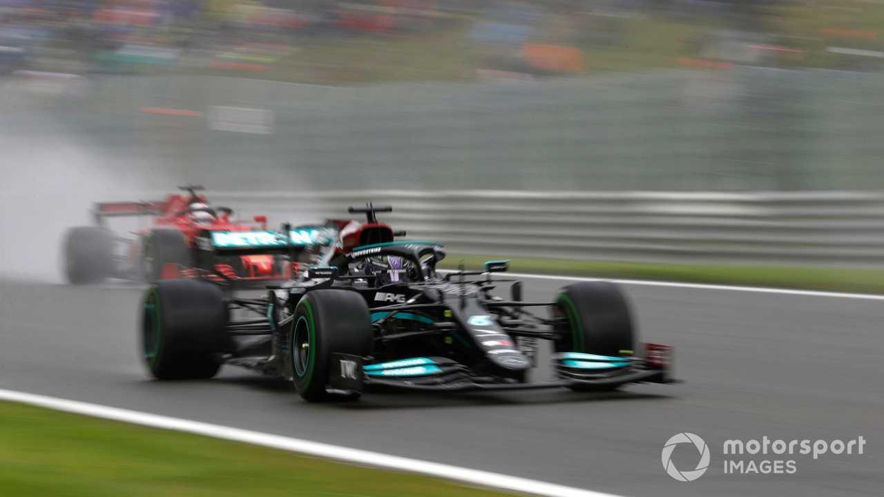 Lewis Hamilton at Belgian GP 2021