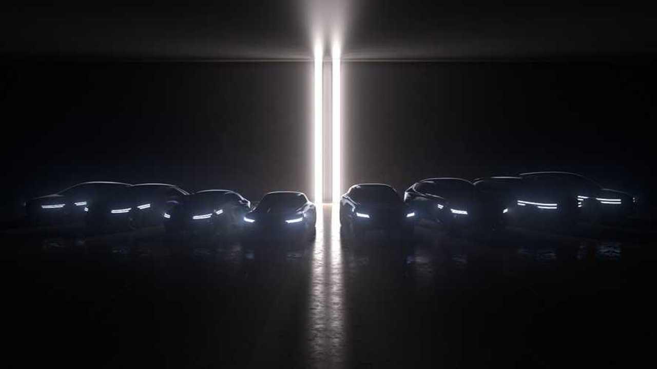 Genesis teasert acht Elektromodelle an - BEVs und FCEVs