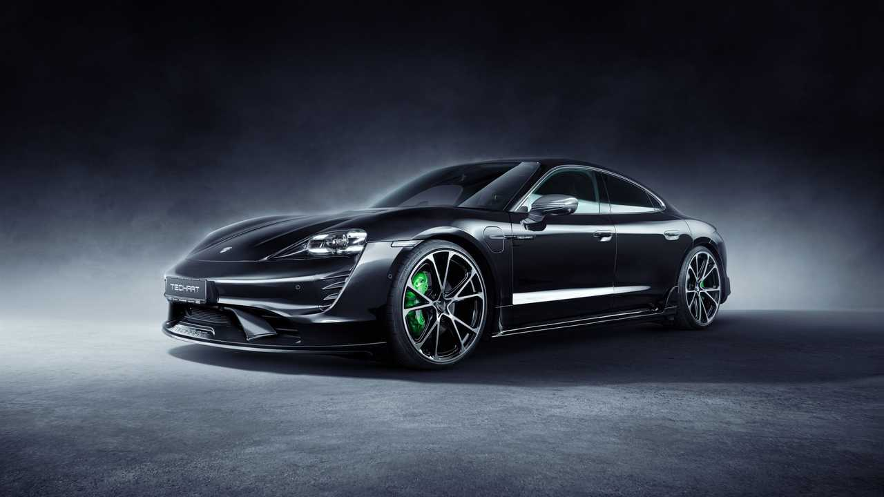 Porsche Taycan by Techart