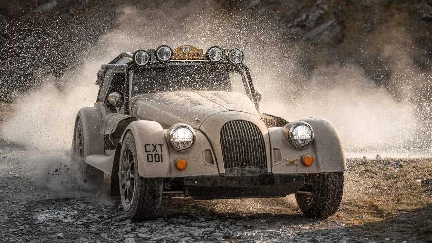 Morgan Plus Four CX-T arrives as rugged, off-road roadster