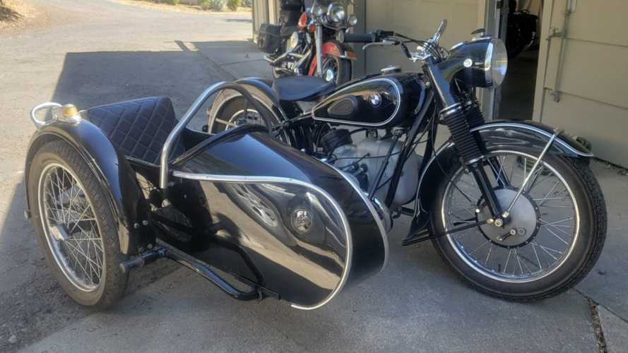 Thinking Of A Trike? Try A 1953 BMW R51/3 with a Steib Sidecar