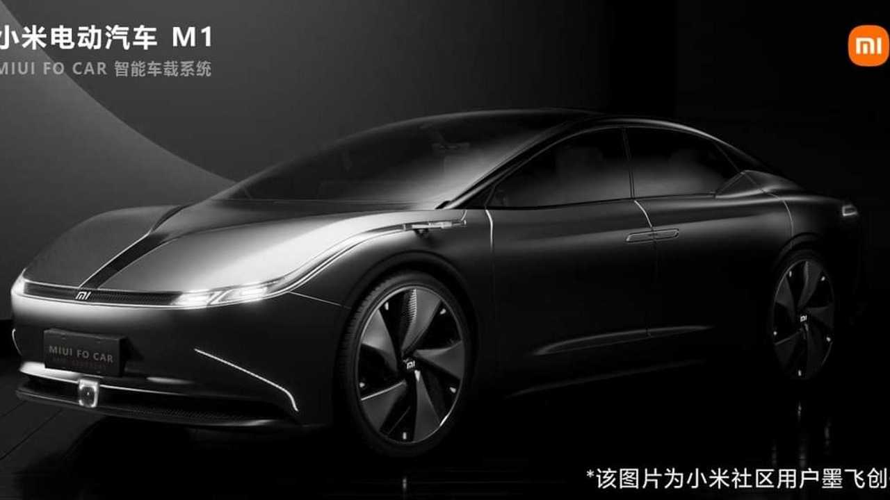 projeção carro elétrico Xiaomi