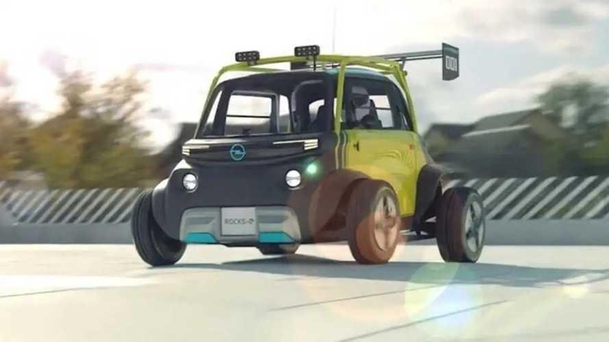 E se la Opel Rocks-e diventasse un bolide per volare in fuoristrada?