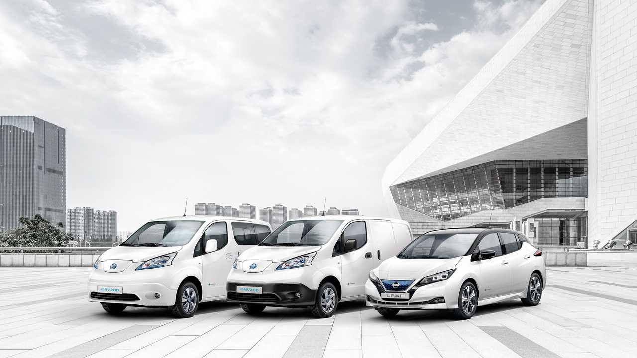 Nissan celebra250.000 elettriche vendute in Europa