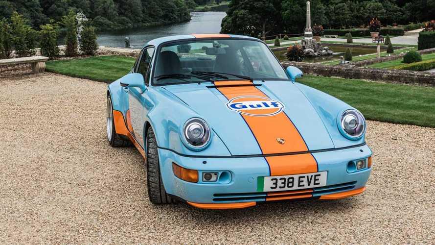 Porsche Gulf Signature Edition EV conversion by Everrati
