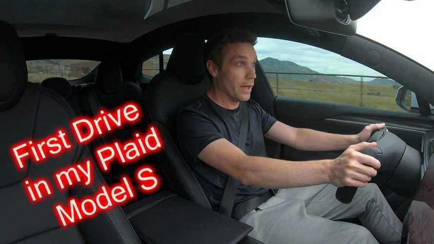 First Drive: 2022 Tesla Model S Plaid