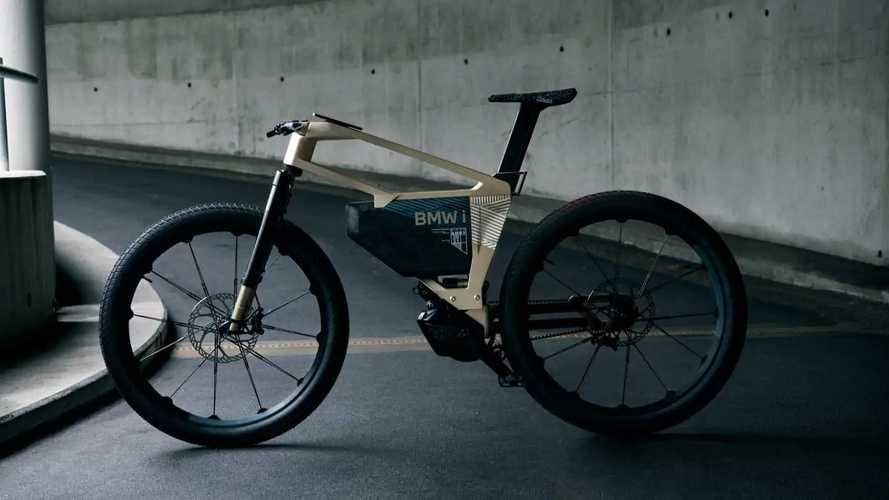 BMW i Vision AMBY: A hip and futuristic electric mountain bike