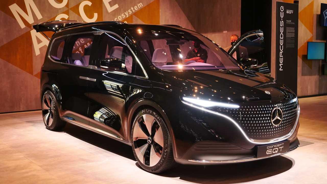 Live photos of Mercedes  Concept EQT from IAA 2021