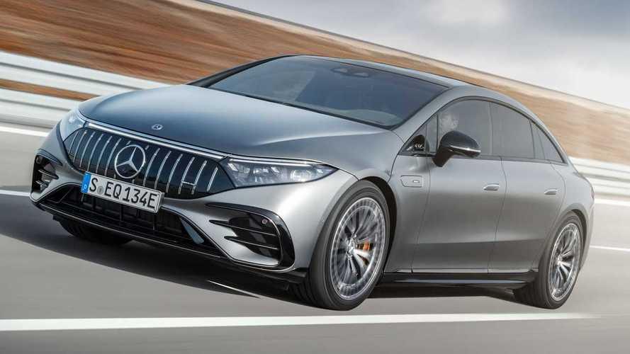Mercedes-AMG EQS - La première AMG électrique dépasse 760 chevaux !