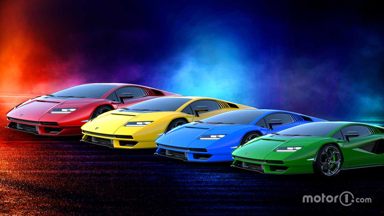 Couleurs Lamborghini Countach 2021