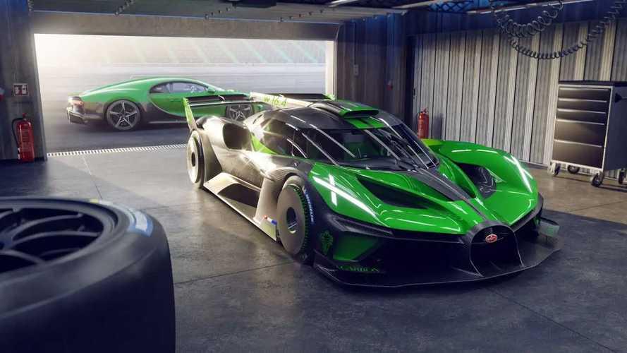 Bugatti'den sıradışı bir model gelecek!