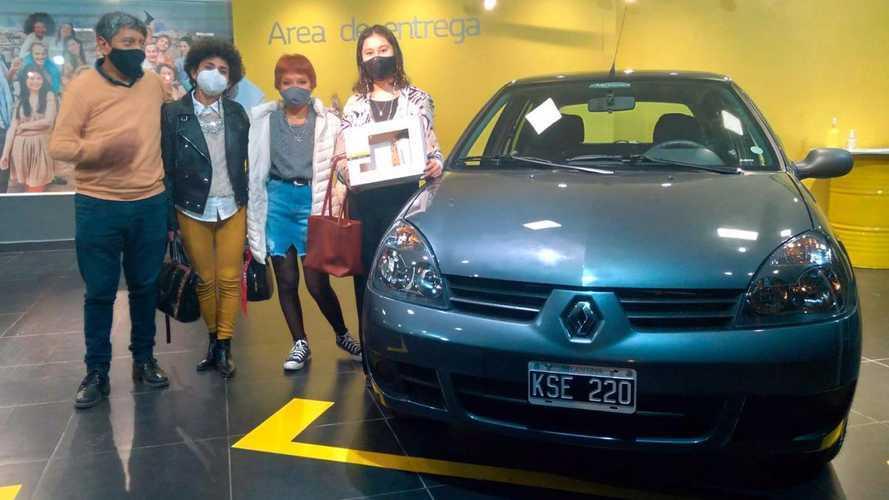 Este foi o último Renault Clio 2011 0km vendido na Argentina