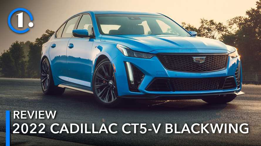 2022 Cadillac CT5-V Blackwing First Drive: Fire-Breathing Finale