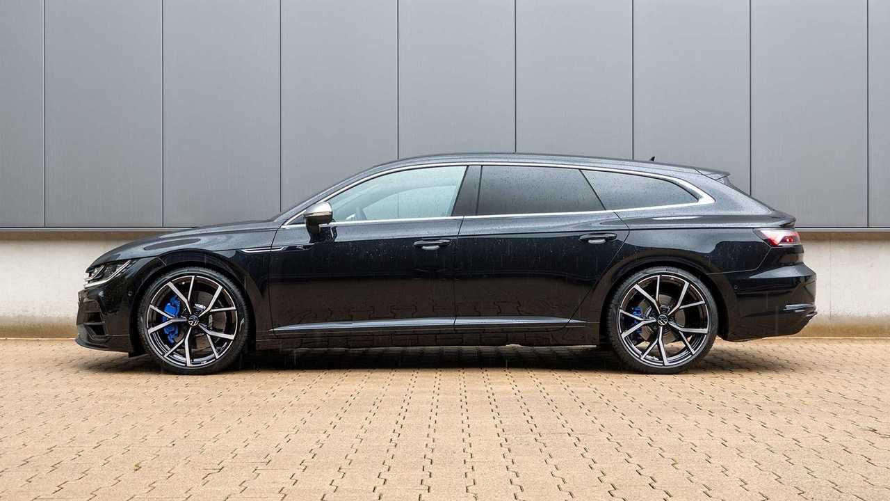 H&R hat den VW Arteon Shooting Brake tiefer gelegt