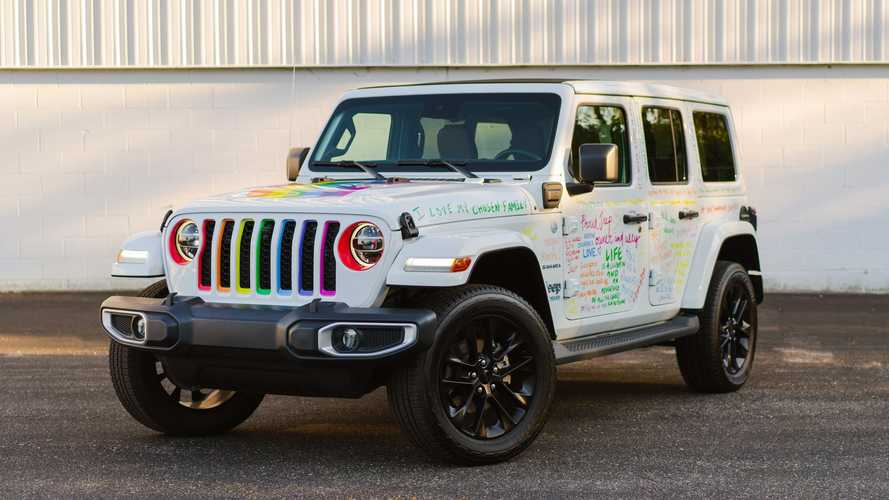 Jeep Joins Detroit Pride Parade With Rainbow Wrangler