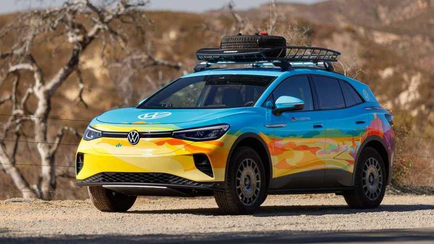 SUV elétrico VW ID.4 ganha visual descolado para competir em rali