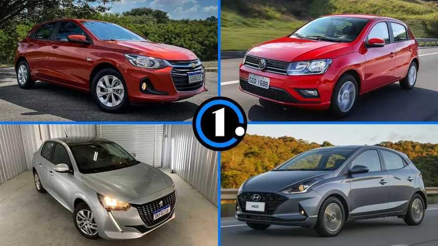 Os 10 carros automáticos mais baratos do Brasil
