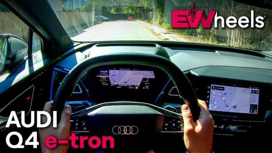 Audi Q4 e-tron PoV Drive