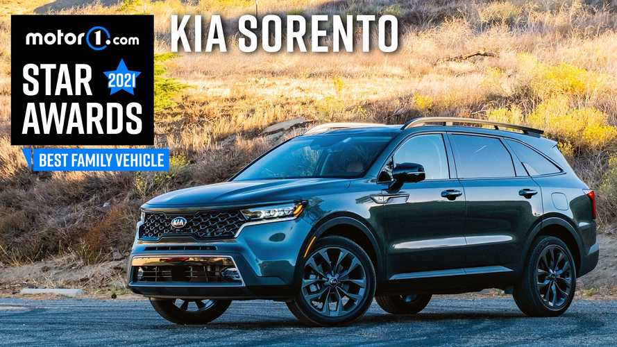 2021 Kia Sorento Wins Motor1 Star Award For Best Family Vehicle
