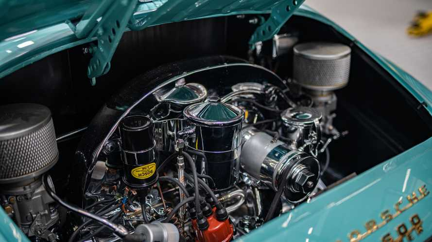 Porsche Santa Clarita restoreli 1955 Porsche 356 Speedster