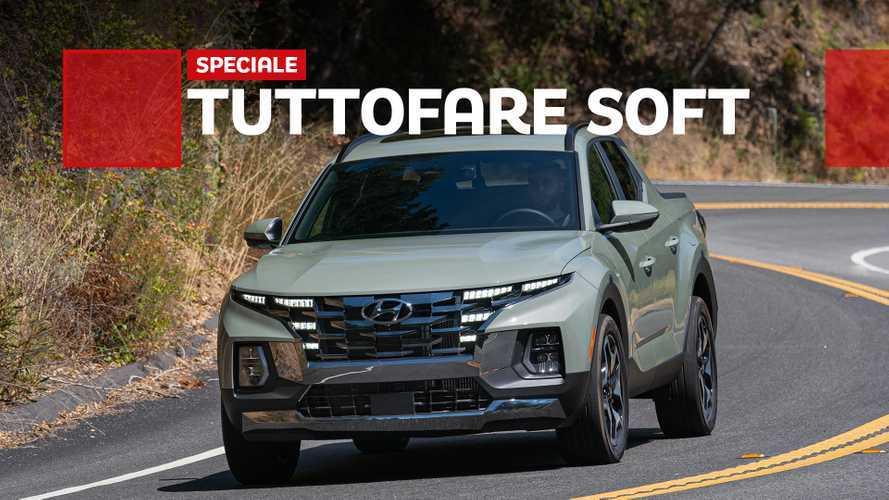Hyundai Santa Cruz, la prova del pick-up versatile e compatto