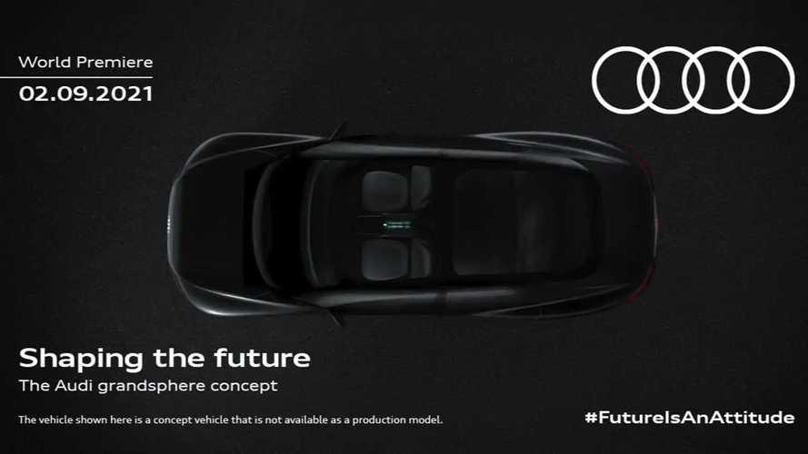 Audi Grandsphere Concept Teaser Previews Sleek Electric Sedan
