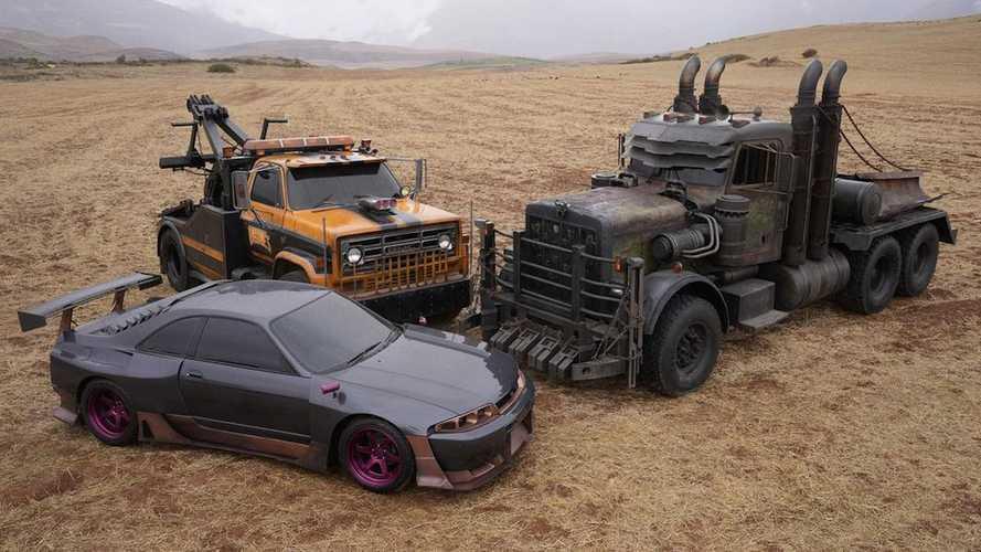Transformers'ın bir sonraki filmi için bu araçlar kullanılacak