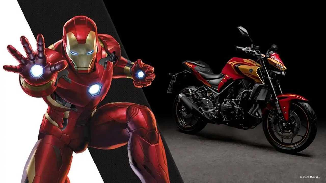 Yamaha MT-03 Homem de Ferro