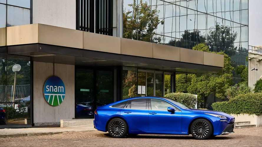 Il piano per l'idrogeno di Toyota passa per l'Italia, insieme a Snam