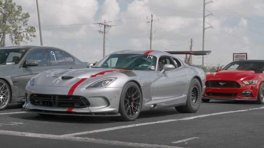 Vídeo: un Dodge Viper con más de 3.300 CV de potencia
