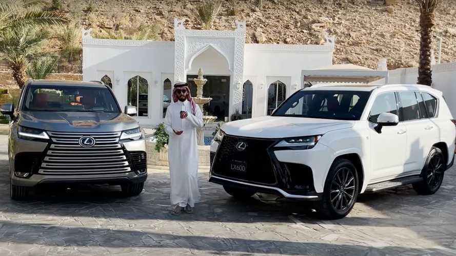 Get To Know The 2022 Lexus LX 600 In This Walkaround Video