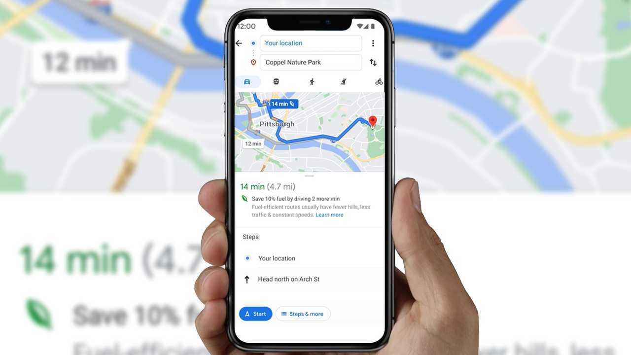 Google Maps mostrará caminho que consome menos combustível