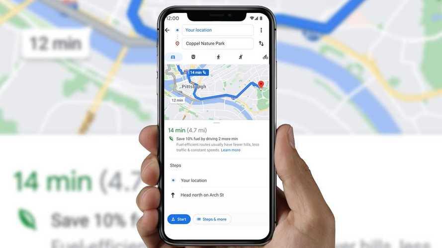 Google Maps mostrará caminhos que consomem menos combustível
