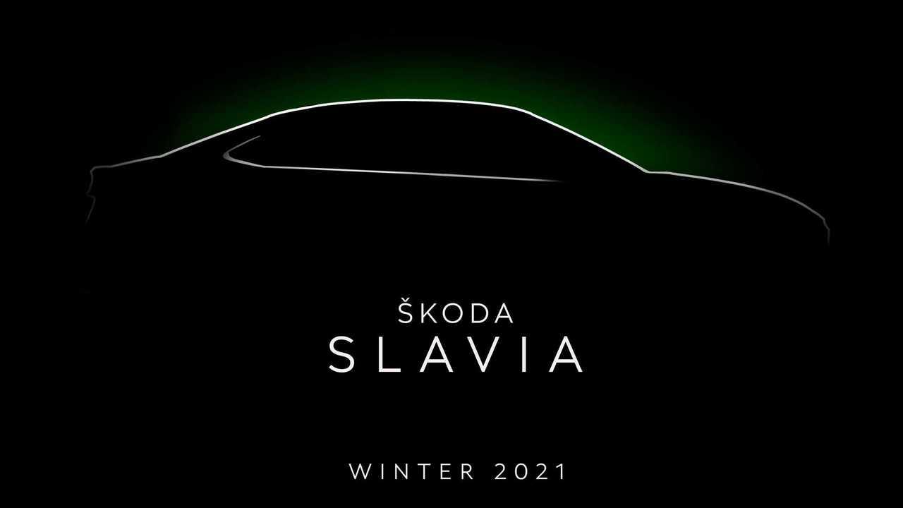 Тизер Skoda Slavia