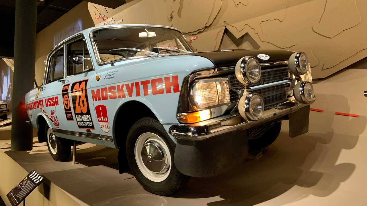 Реплика «Москвича-412» для ралли-марафона Лондон-Мехико 1970 года