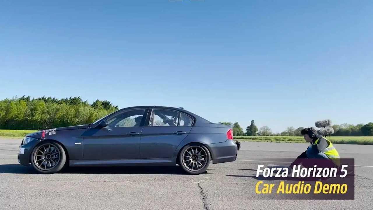 Forza Horizon 5, come si registrano i suoni delle auto