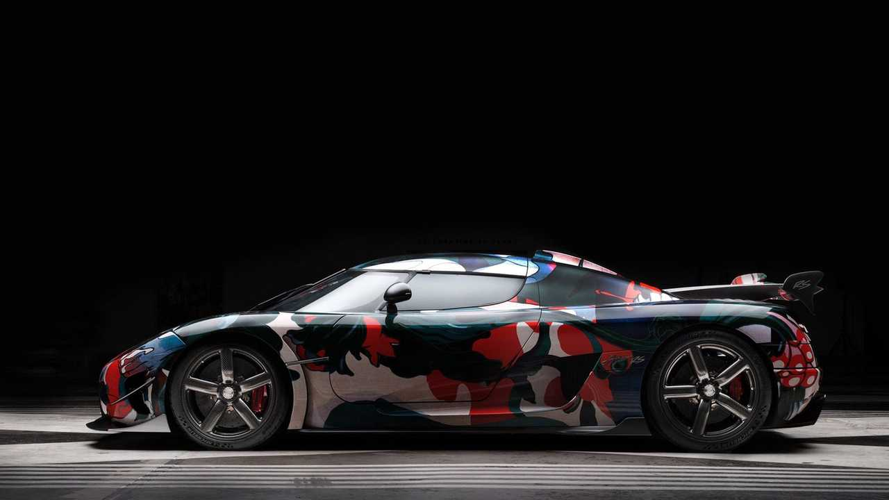 Koenigsegg Wrapped Its World Record Top Speed Car In A Funky Print