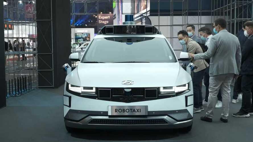 Hyundai Ioniq 5 Robo Taxi at IAA 2021