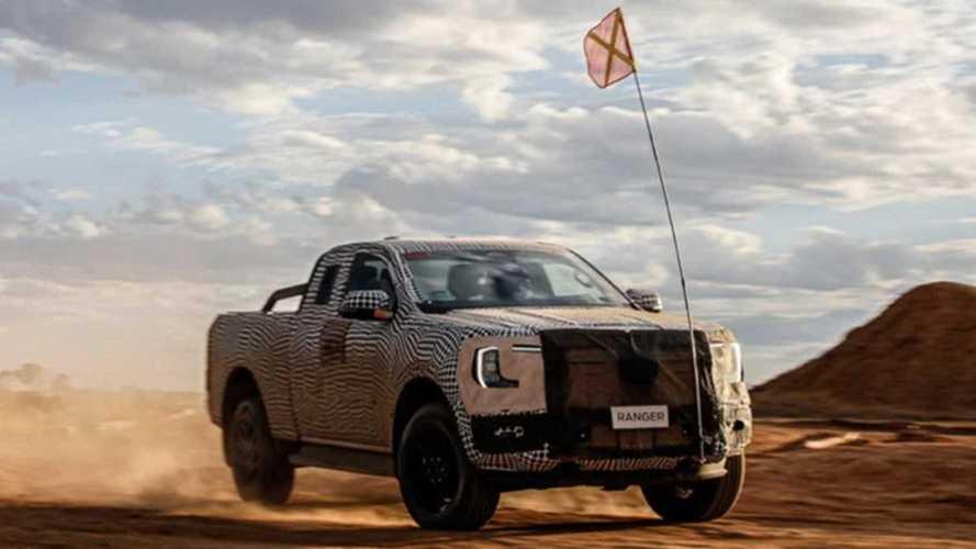 Ford впервые показал новый Ranger на видео