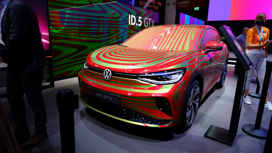 Volkswagen ID.5 GTX at IAA 2021